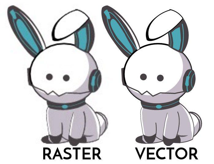 vector raster
